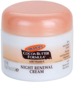 Palmer's Face & Lip Cocoa Butter Formula obnovujúci nočný krém proti starnutiu pleti