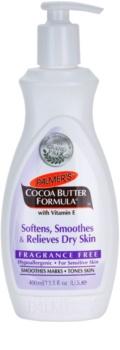 Palmer's Hand & Body Cocoa Butter Formula zjemňujúci telový balzam vyhladzujúci suchú pokožku bez parfumácie