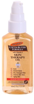 Palmer's Palmer's Hand & Body Cocoa Butter Formula óleo seco multiuso para rosto e corpo, com aroma de rosa mosqueta