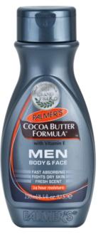 Palmer's Men Cocoa Butter Formula vlažilna krema za obraz in telo z vitaminom E
