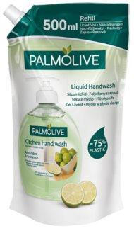 Palmolive Kitchen Hand Wash Anti Odor mýdlo na ruce pro odstranění nepříjemného zápachu po vaření náhradní náplň