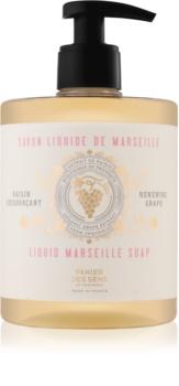 Panier des Sens Renewing Grape tekuté mýdlo na tvář, ruce a tělo