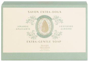 Panier des Sens Almond niezwykle delikatne, naturalne mydło