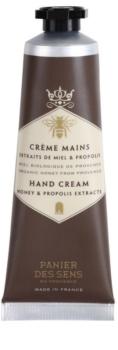 Panier des Sens Honey nährende Creme für die Hände