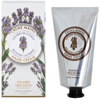 Panier des Sens Lavender entspannende Creme für die Hände