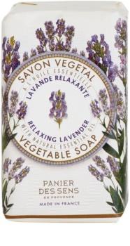 Panier des Sens Lavender entspannende pflanzliche Seife