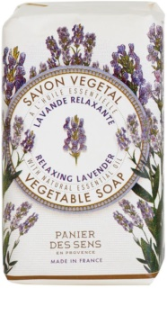 Panier des Sens Lavender sabonete relaxante  de ervas
