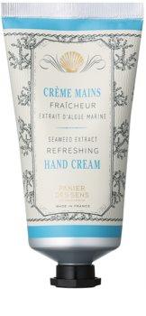 Panier des Sens Mediterranean Freshness krém na ruky s extraktmi z morských rias s extraktmi z morských rias