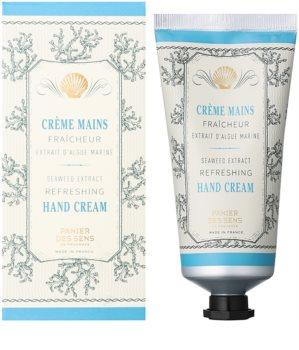 Panier des Sens Mediterranean Freshness crema de maini cu extracte de alge marine