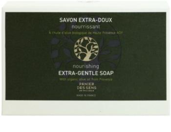 Panier des Sens Olive jabón extra suave nutritivo