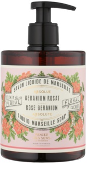 Panier des Sens Rose Geranium tekuté mýdlo s pumpičkou