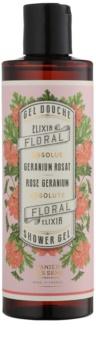 Panier des Sens Rose Geranium gel de dus