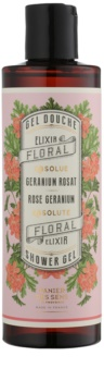 Panier des Sens Rose Geranium sprchový gel