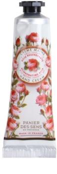 Panier des Sens Rose crème rajeunissante mains