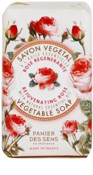 Panier des Sens Rose regeneracyjne mydło roślinne