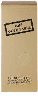 Parfums Café Café Gold Label Eau de Toilette para mulheres 100 ml