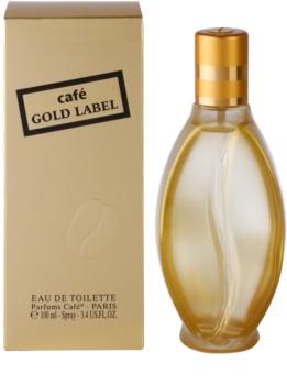Parfums Café Café Gold Label eau de toilette nőknek 100 ml