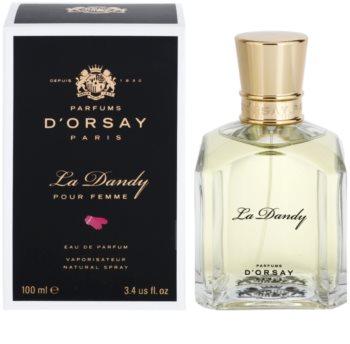 Parfums D'Orsay La Dandy Pour Femme Eau de Parfum para mulheres 100 ml