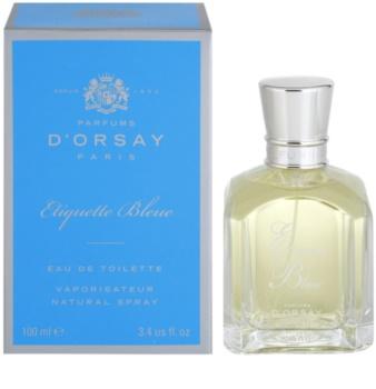 Parfums D'Orsay Etiquette Bleue eau de toilette unisex 100 ml