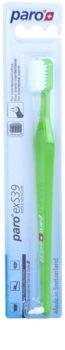 Paro exS39 zubní kartáček + jednosvazkový kartáček 2 v 1 ultra soft