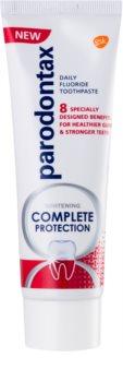 Parodontax Complete Protection Whitening dentífrico branqueador com fluoreto