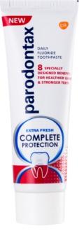 Parodontax Complete Protection Extra Fresh pasta de dientes con flúor para dientes y encías sanos