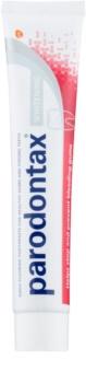 Parodontax Whitening bleichende Zahnpasta gegen Zahnfleischbluten