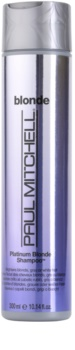 Paul Mitchell Blonde Platinum Blonde šampon pro blond a šedivé vlasy