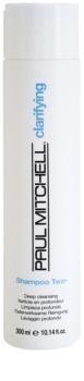 Paul Mitchell Clarifying Two hĺbkovo čistiaci šampón pre mastné vlasy