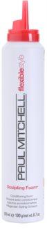 Paul Mitchell Flexiblestyle pena na vlasy pre flexibilné spevnenie