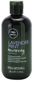 Paul Mitchell Tea Tree Lavender Mint hydratačný a upokojujúci šampón pre suché a nepoddajné vlasy