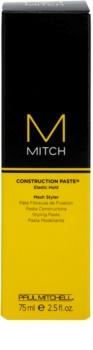 Paul Mitchell Mitch Construction Paste stylingová pasta pro rozcuchaný vzhled