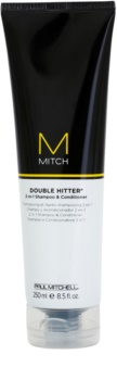Paul Mitchell Mitch Double Hitter šampon a kondicionér 2 v 1