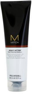 Paul Mitchell Mitch Heavy Hitter hĺbkovo čistiaci šampón
