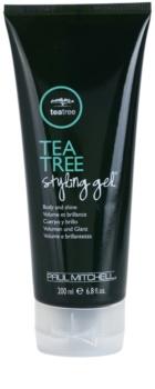 Paul Mitchell Tea Tree gel na vlasy pro objem a lesk