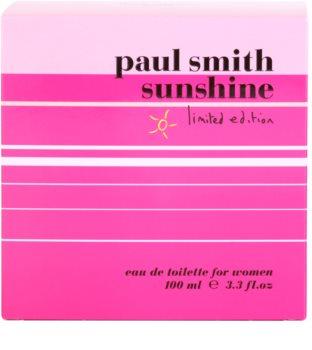 Paul Smith Sunshine Limited Edition 2014 eau de toilette nőknek 100 ml