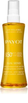 Payot Sun Sensi olio abbronzante per corpo e capelli SPF 50+