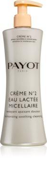 Payot Crème No.2 latte micellare struccante per pelli sensibili e intolleranti