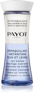 Payot Les Démaquillantes dvofazni odstranjevalec vodoodpornih ličil za oči in ustnice