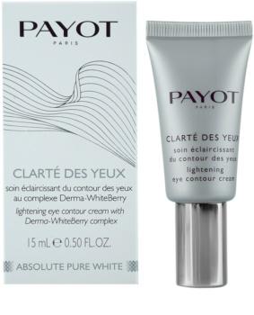 Payot Absolute Pure White rozjasňující krém na oční okolí