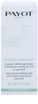 Payot Expert Pureté reinigende Peeling-Gesichtsmaske für fettige und Mischhaut