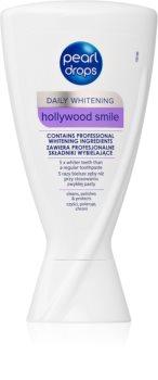 Pearl Drops Hollywood Smile dentífrico branqueador para dentes brancos radiantes