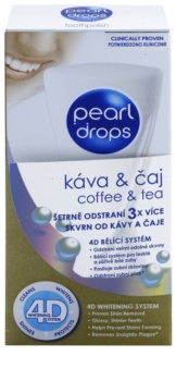Pearl Drops Coffee & Tea bleichende Zahnpasta gegen den dunklen Flecken