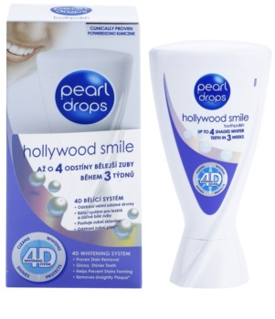 pearl drops hollywood smile dentifrice blanchissant pour des dents clatantes de blancheur. Black Bedroom Furniture Sets. Home Design Ideas