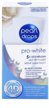 Pearl Drops Pro White dentífrico branqueador para dentes brancos radiantes
