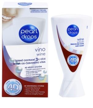 Pearl Drops Wine bělicí zubní pasta proti tmavým skvrnám
