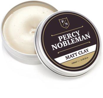 Percy Nobleman Hair matujúci vosk na vlasy s ílom