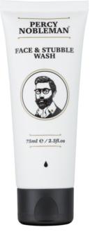 Percy Nobleman Face & Stubble čisticí gel na obličej a vousy