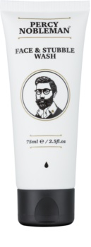 Percy Nobleman Face & Stubble Cleansing Gel for Face and Beard