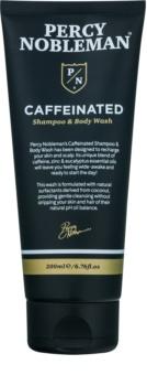 Percy Nobleman Hair kofeínový šampón pre mužov na telo a vlasy